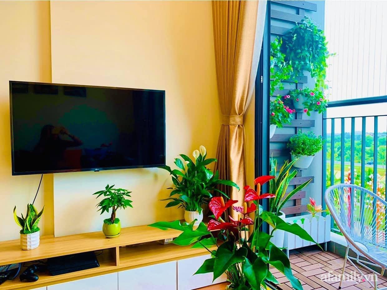 Căn hộ ấm cúng với đủ tiện ích cùng view xanh mát thiên nhiên của cặp vợ chồng trẻ sau 4 năm đi thuê nhà Hà Nội - Ảnh 5.