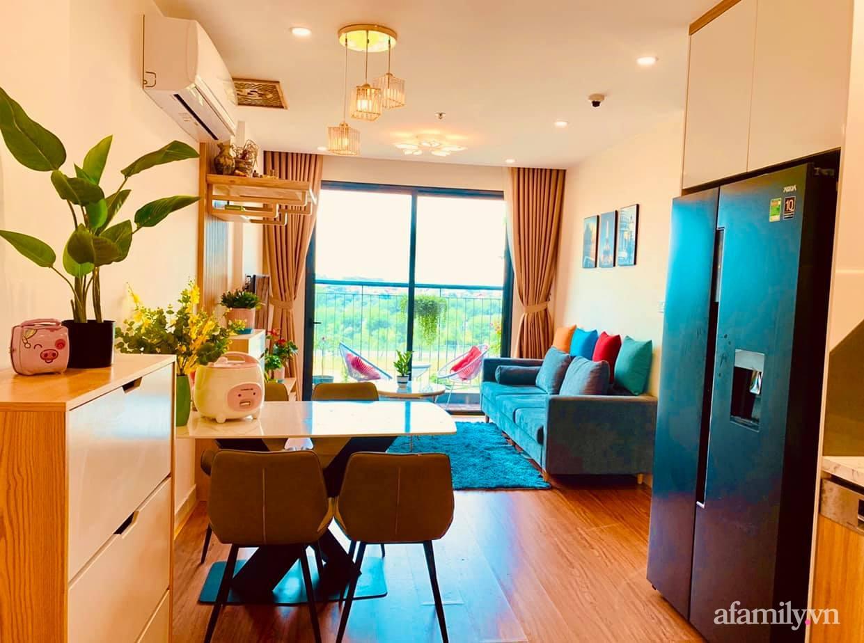 Căn hộ ấm cúng với đủ tiện ích cùng view xanh mát thiên nhiên của cặp vợ chồng trẻ sau 4 năm đi thuê nhà Hà Nội - Ảnh 1.