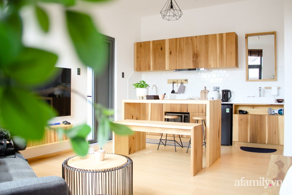 """Căn nhà """"thôi miên"""" bằng nội thất gỗ tự nhiên cùng phong cách tối giản của chàng trai Đà Lạt - Ảnh 5."""