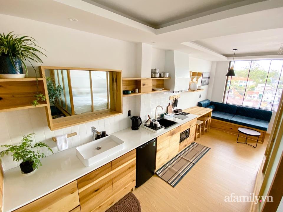 """Căn nhà """"thôi miên"""" bằng nội thất gỗ tự nhiên cùng phong cách tối giản của chàng trai Đà Lạt - Ảnh 7."""