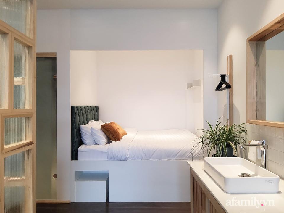 """Căn nhà """"thôi miên"""" bằng nội thất gỗ tự nhiên cùng phong cách tối giản của chàng trai Đà Lạt - Ảnh 12."""