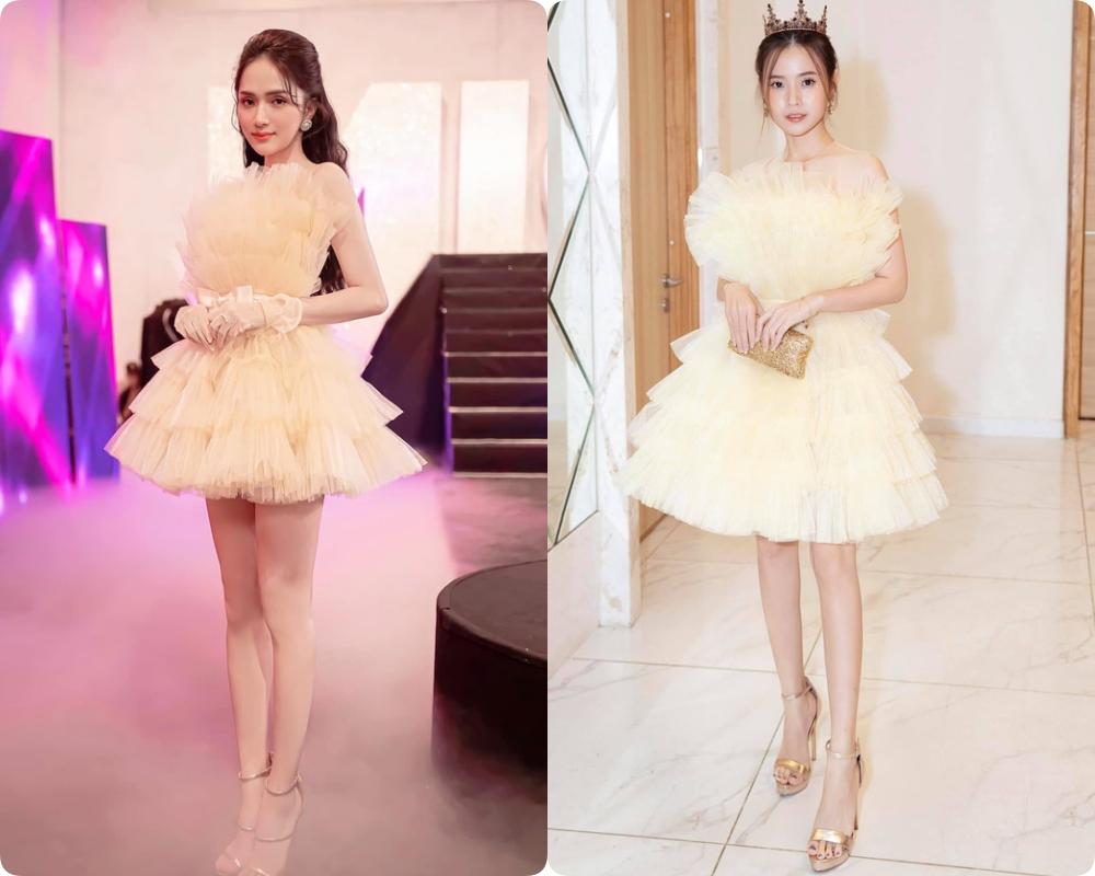 Học lỏm stylist Kpop xén váy để khoe chân dài, Hương Giang cắt luôn 1 tầng váy khi đụng hàng Midu: Nhưng kết quả lại không được như mong đợi - Ảnh 5.
