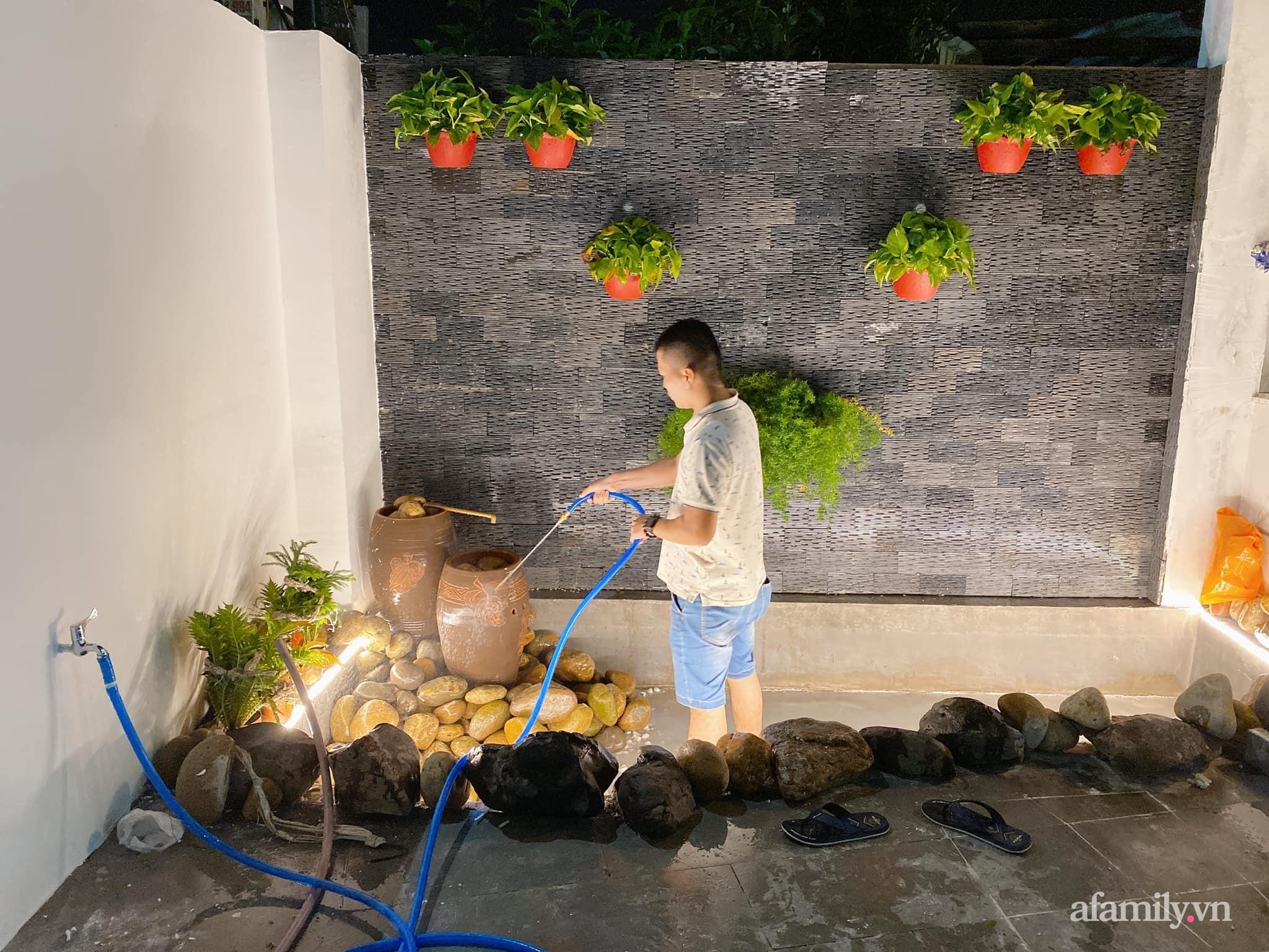 Nhà cấp 4 xây theo mô hình chống bão của cặp vợ chồng trẻ người Quảng Ngãi gây xôn xao vì đẹp như hình tạp chí, chính chủ tiết lộ chi phí gần 1,2 tỷ đồng - Ảnh 6.