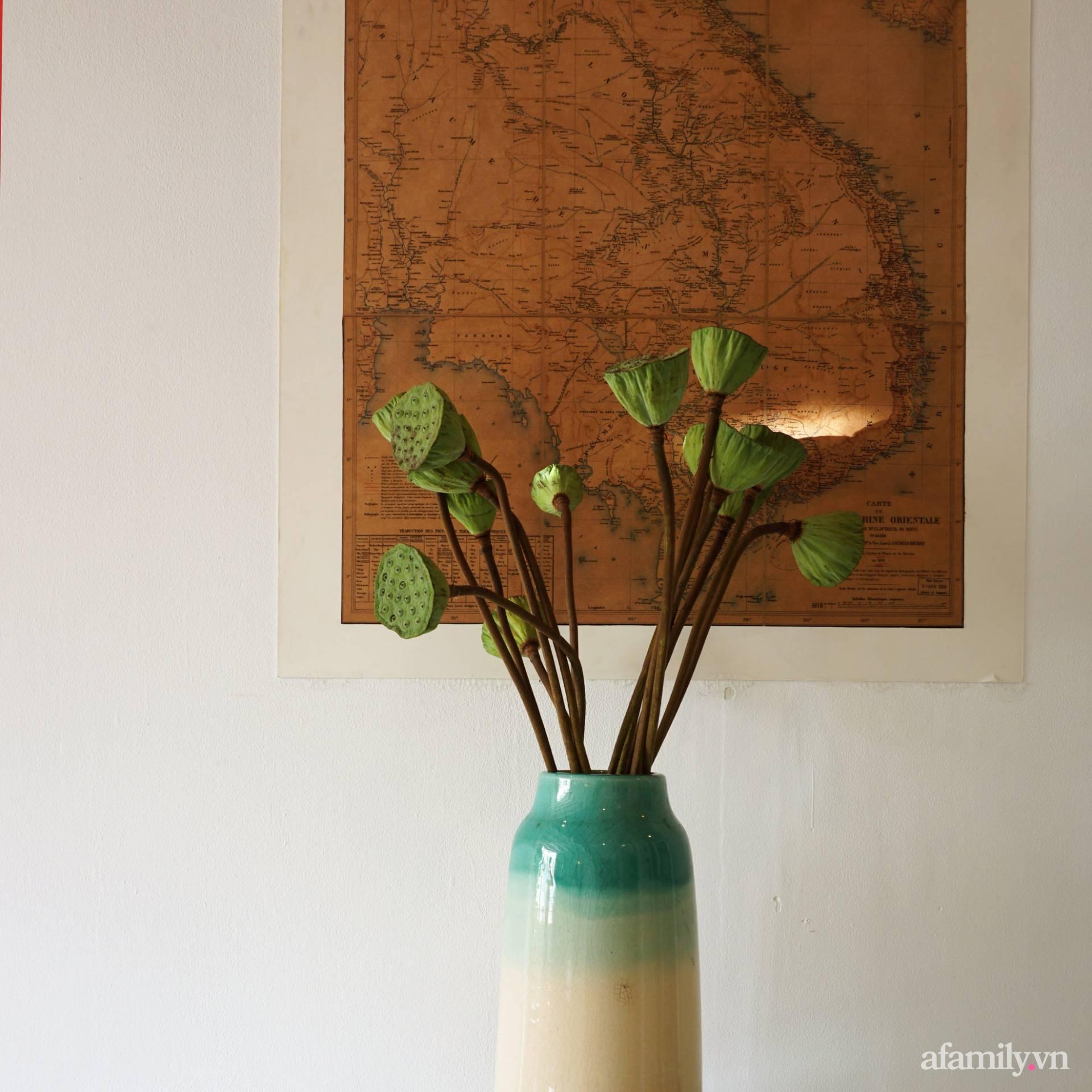 Cải tạo nhà tập thể đẹp hoài cổ lấy cảm hứng từ phong cách Đông Dương có chi phí 120 triệu đồng ở Sài Gòn - Ảnh 6.