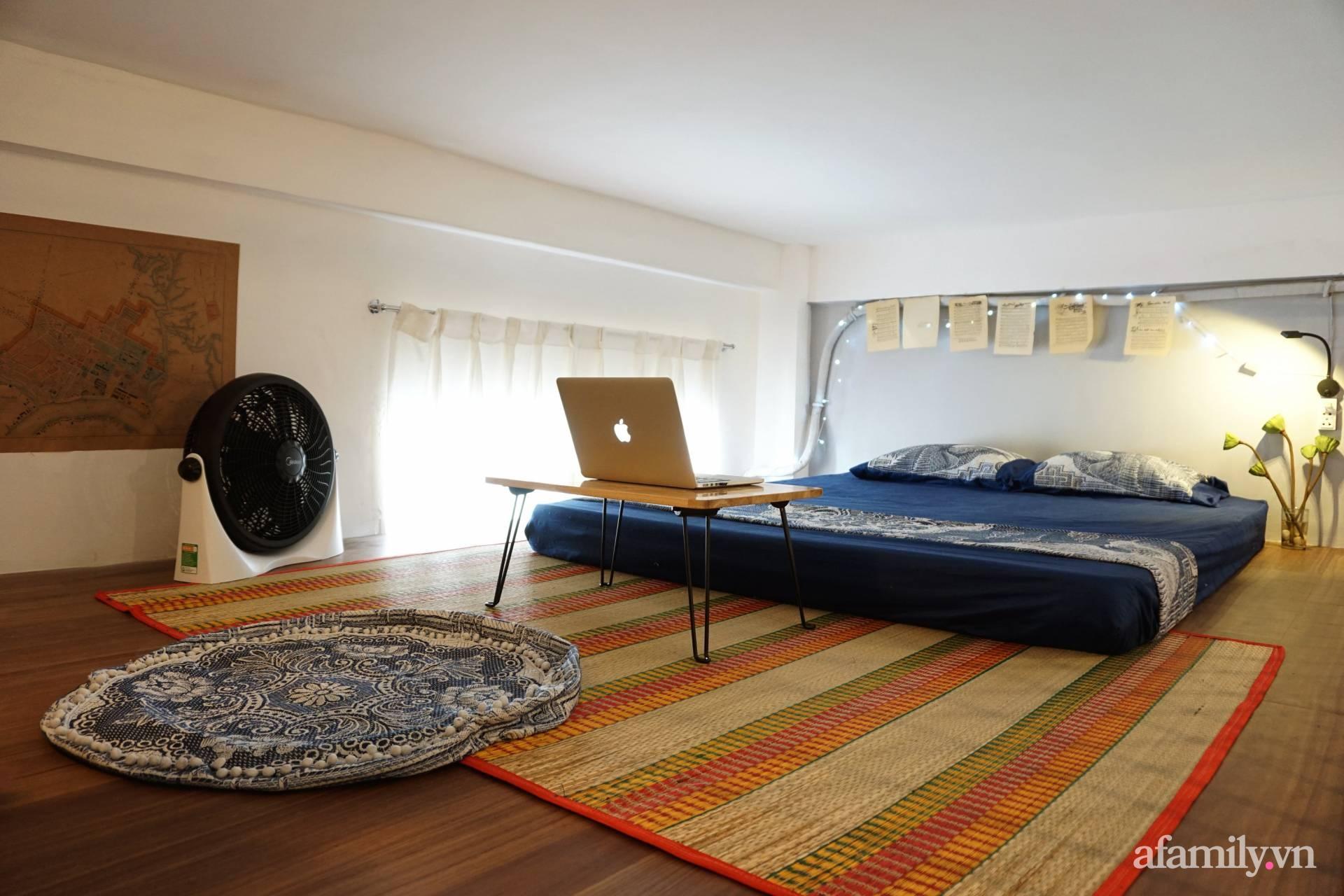 Cải tạo nhà tập thể đẹp hoài cổ lấy cảm hứng từ phong cách Đông Dương có chi phí 120 triệu đồng ở Sài Gòn - Ảnh 9.
