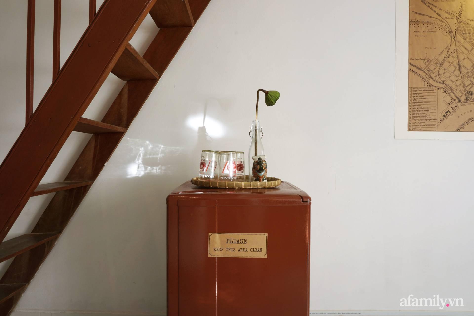 Cải tạo nhà tập thể đẹp hoài cổ lấy cảm hứng từ phong cách Đông Dương có chi phí 120 triệu đồng ở Sài Gòn - Ảnh 7.