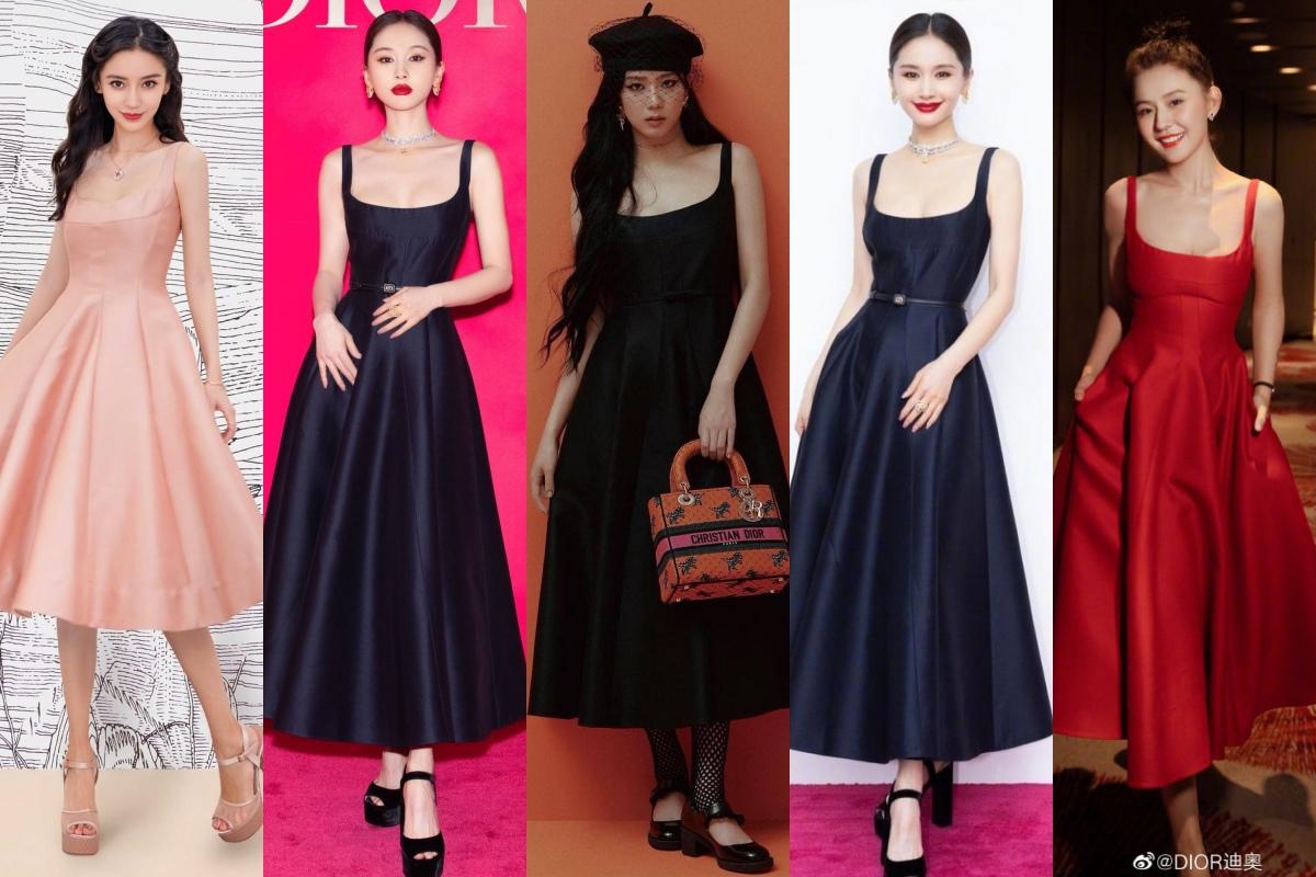 """Jisoo Dior Diện đồ Dior lấy cảm hứng từ Jisoo, Angela Baby và dàn sao Cbiz ngậm ngùi lép vế """"bản gốc""""? - Ảnh 11."""
