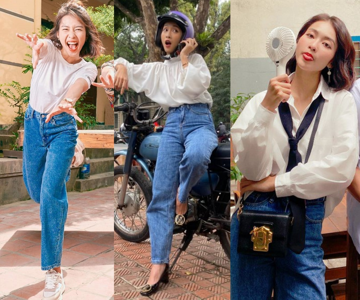 Khả Ngân style Khả Ngân lên đồ cao tay trong 11 Tháng 5 Ngày: Mặc lại đồ cũ, style thú vị hơn cả mẫu hãng - Ảnh 1.