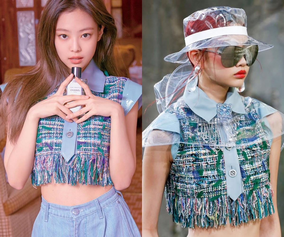 """Jennie và Jung Ho Yeon Jennie và nữ chính Squid Game thân thiết nên cũng đụng hàng chan chát, """"cân não"""" phân định ai sang hơn - Ảnh 4."""