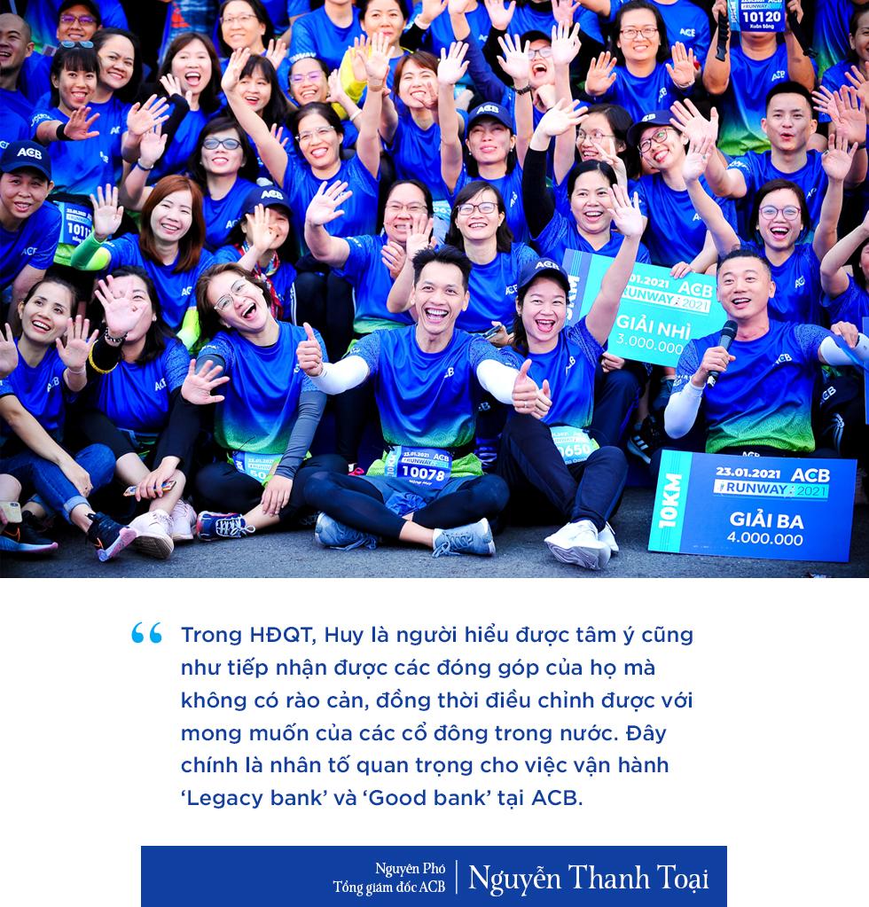 Chủ tịch ngân hàng đặc biệt nhất Việt Nam và hành trình 10 năm 'trở lại yên chiến mã' của ACB - Ảnh 5.