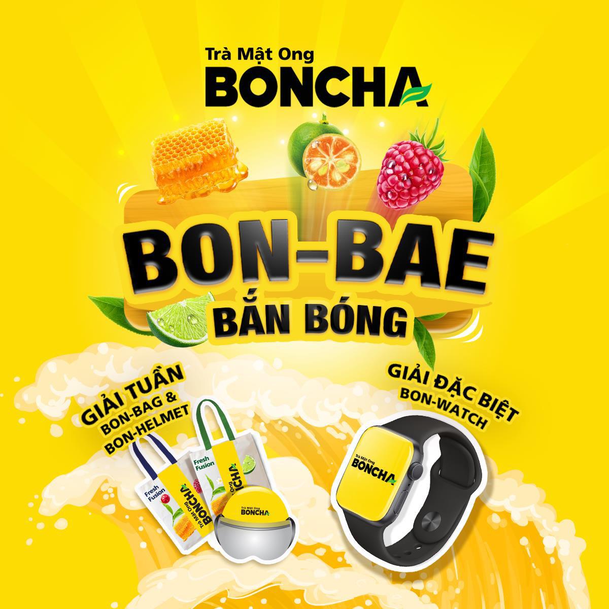 """BONCHA """"tạo sóng mạng xã hội với minigame BON-BAE bắn bóng - Ảnh 3."""