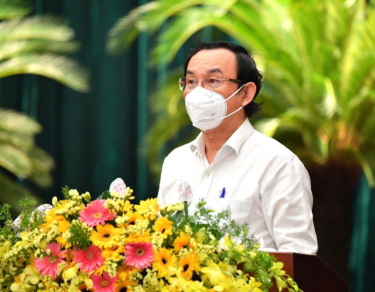 NÓNG: Thành ủy TP HCM đang họp mở rộng bàn nhiều vấn đề quan trọng - Ảnh 3.