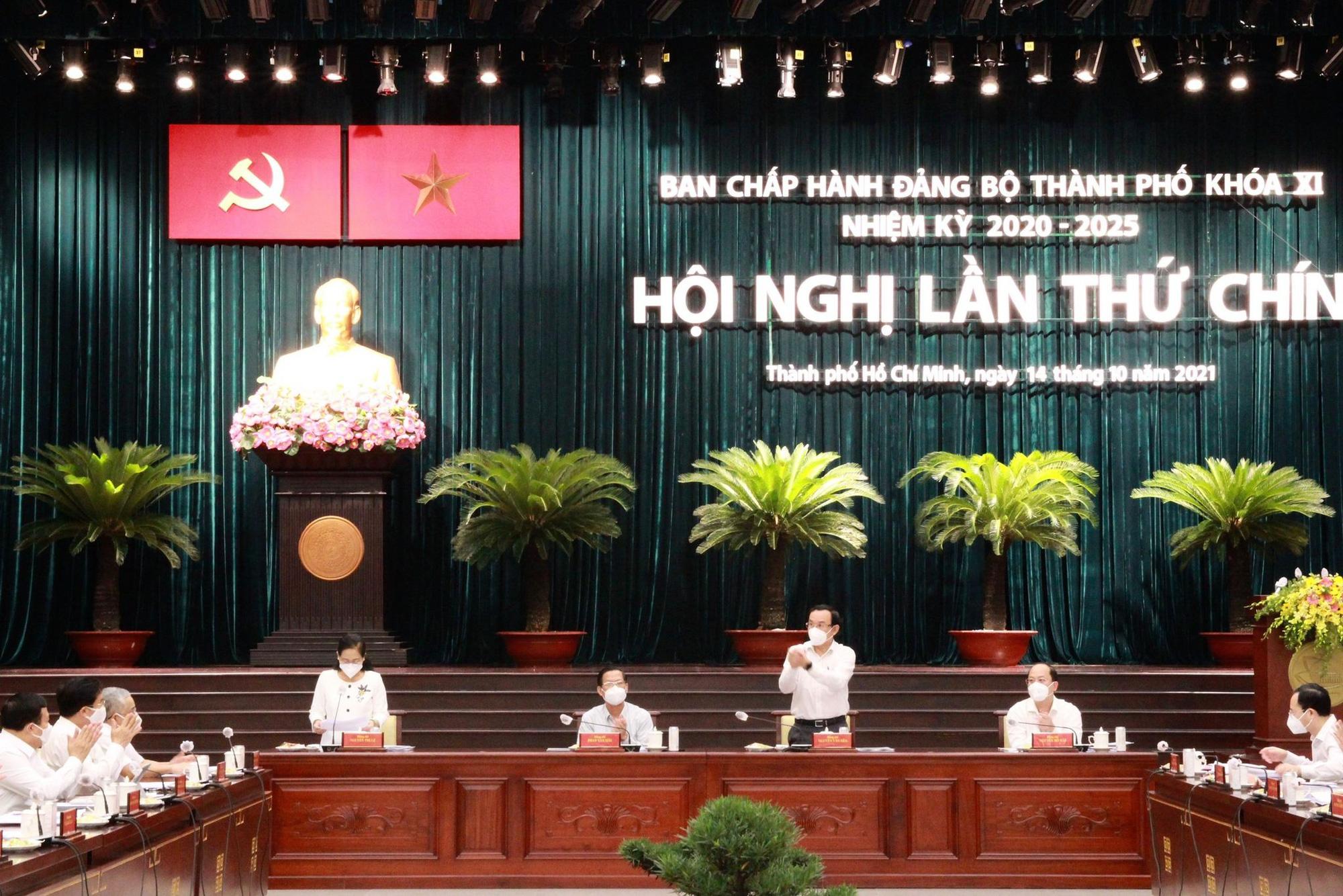 NÓNG: Thành ủy TP HCM đang họp mở rộng bàn nhiều vấn đề quan trọng - Ảnh 2.