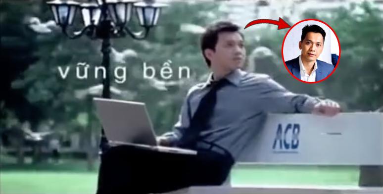 Phát hiện: Chủ tịch ACB từng đích thân đóng quảng cáo cho ngân hàng 12 năm trước, ai tinh mắt lắm mới nhìn ra - Ảnh 2.