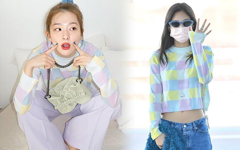 Cuộc chiến style giữa Jenne - Seulgi: Mỹ nhân BLACKPINK diện hẳn quần tụt xộc xệch có ấn tượng hơn?