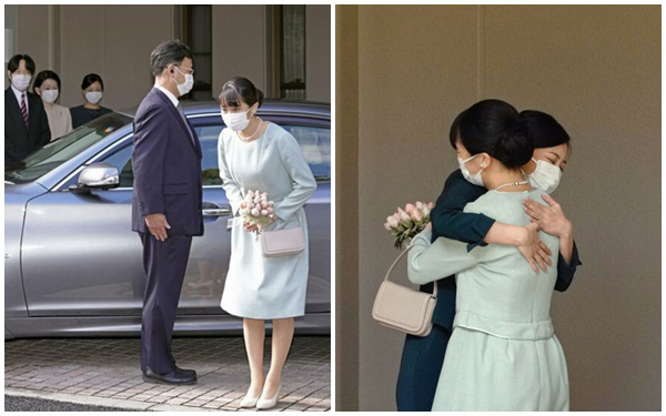 Công chúa Nhật tạm biệt gia đình, rời khỏi hoàng gia, hôn phu xuất hiện lịch lãm trong ngày cưới trọng đại