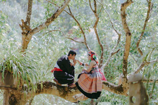 Mắc kẹt trên Tây Bắc vì dịch, chàng trai Sài Gòn cưới ngay vợ người HMông xinh đẹp - Ảnh 3.