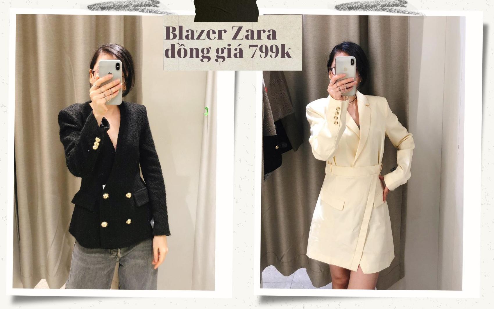Blazer Zara sale đồng giá 799k: Áo vải tweed đẹp mê, chuẩn style sang chảnh của chị đẹp Son Ye Jin