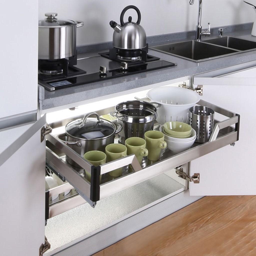 8 món nội thất giúp không gian nhà bếp nhỏ đẹp hoàn hảo - Ảnh 5.