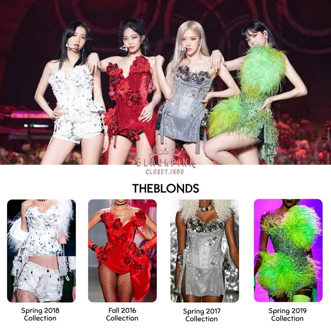 Viết là THE SHOW đọc là đại hội chế đồ của stylist BLACKPINK: Choáng nhất là màn chế áo khoác cho Jennie, Rosé - Ảnh 9.