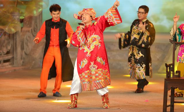 """""""Táo Quân"""": Quang Thắng đại náo bằng """"Big Kinh Tế Boi"""", thiên đình quá đỗi ngạc nhiên  - Ảnh 3."""