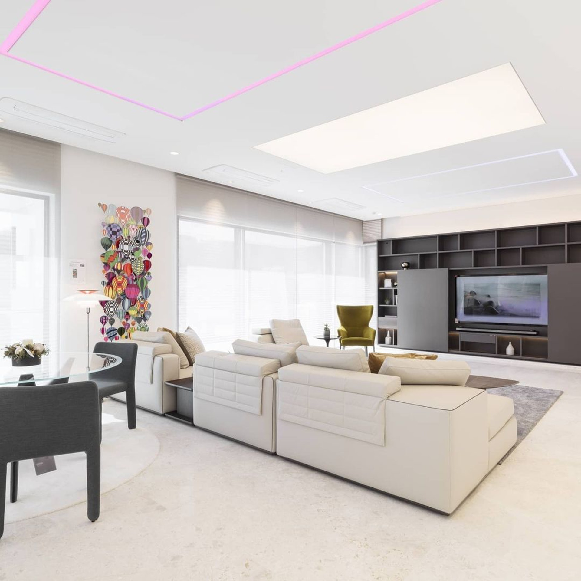 Penthouse mới giá gần 100 tỷ của Hyun Bin gây choáng ngợp vì độ sang chảnh - Ảnh 7.
