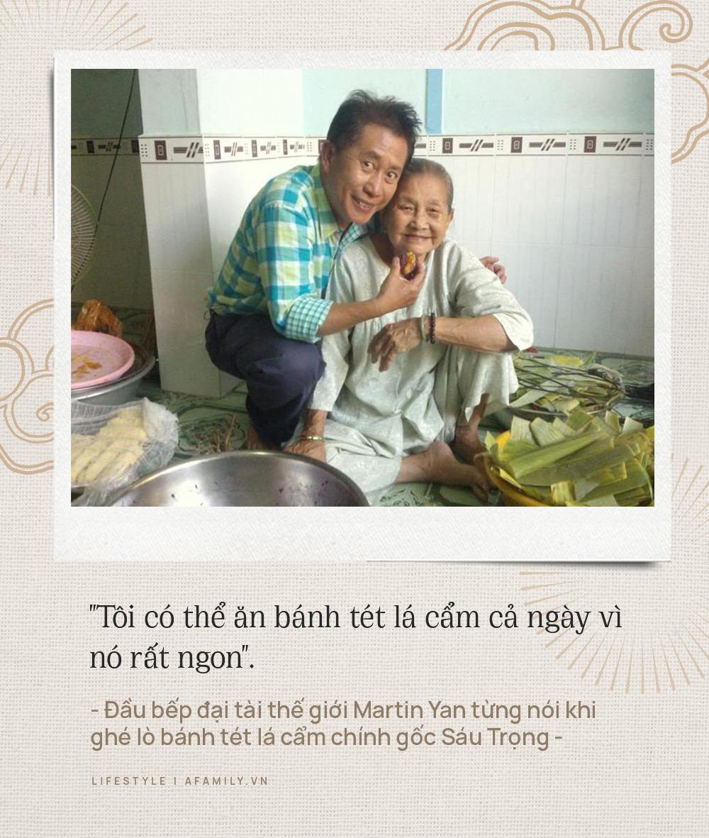 Chuyện về nồi bánh tét lá cẩm nổi tiếng do bà cụ 91 tuổi ở Cần Thơ sáng tạo, được báo nước ngoài liên tục ca ngợi, hơn 100 nơi làm theo nhưng vẫn không sợ chuyện mất bản quyền nhờ nắm công thức gia truyền - Ảnh 12.
