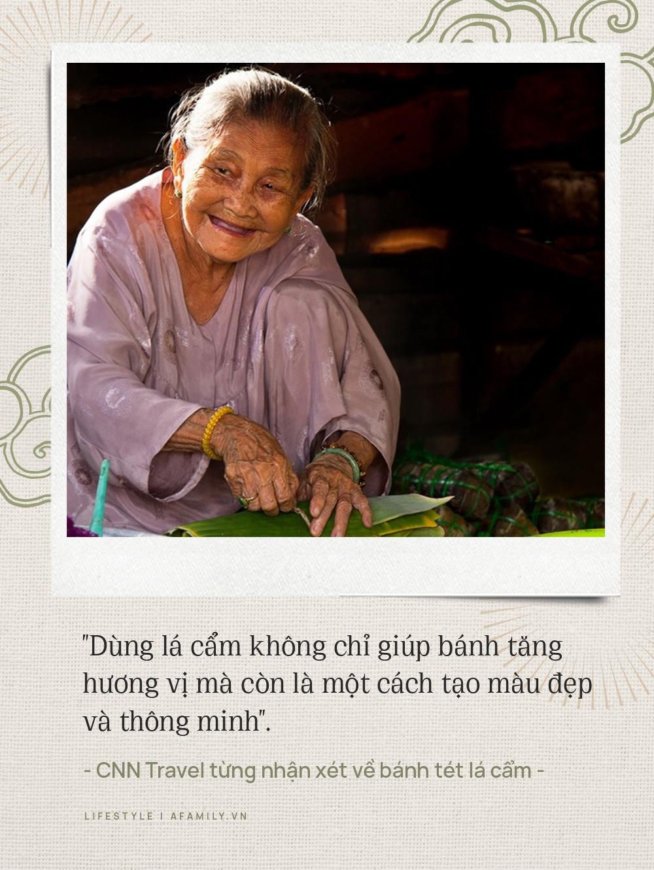 Chuyện về nồi bánh tét lá cẩm nổi tiếng do bà cụ 91 tuổi ở Cần Thơ sáng tạo, được báo nước ngoài liên tục ca ngợi, hơn 100 nơi làm theo nhưng vẫn không sợ chuyện mất bản quyền nhờ nắm công thức gia truyền - Ảnh 4.