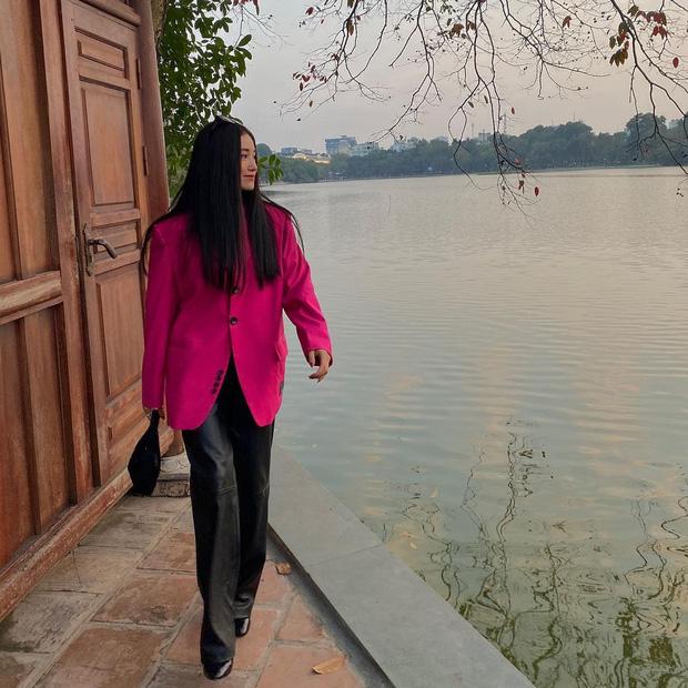 Ngắm sao Việt khoe outfit những ngày đầu năm, chị em sẽ rút ra loạt chiêu phối đồ trendy để áp dụng cho 2021 - Ảnh 3.