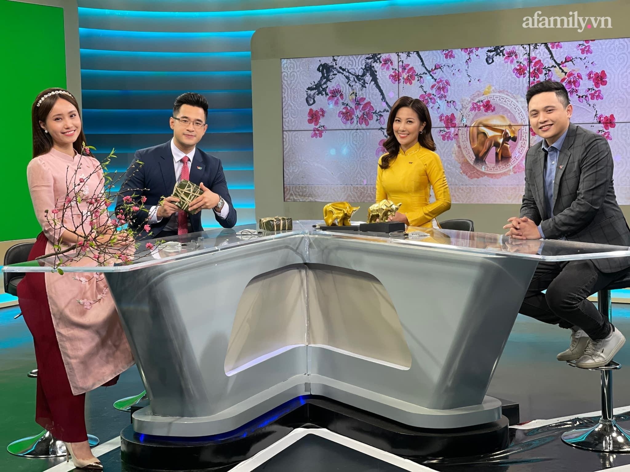Tết của các nữ BTV truyền hình: Người đội mưa rét đi dẫn bản tin từ 4h sáng, người đón xuân đầu tiên không được về nhà - Ảnh 9.