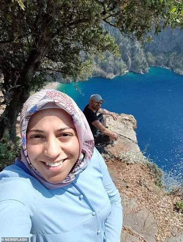 Vợ ôm bụng bầu chụp hình ở vách núi mà chẳng nhận ra nụ cười nham hiểm của gã chồng tàn độc trước khi bị xô ngã đến chết - Ảnh 3.