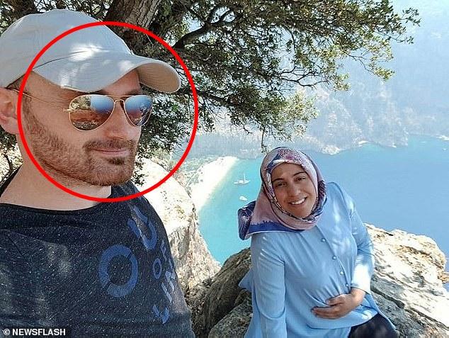 Vợ ôm bụng bầu chụp hình ở vách núi mà chẳng nhận ra nụ cười nham hiểm của gã chồng tàn độc trước khi bị xô ngã đến chết - Ảnh 1.