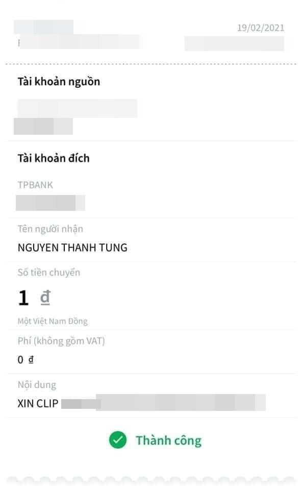 """Sơn Tùng bất ngờ được anti-fan lì xì đầu năm nhưng nhìn nội dung chuyển khoản mới """"dở khóc dở cười"""" - Ảnh 4."""