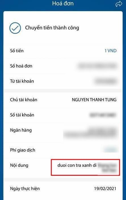 """Sơn Tùng bất ngờ được anti-fan lì xì đầu năm nhưng nhìn nội dung chuyển khoản mới """"dở khóc dở cười"""" - Ảnh 3."""
