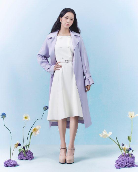 """""""Nữ thần mùa Xuân"""" gọi tên Jisoo: Hay bị chê nhạt nhất nhóm nhưng giờ làm mẫu thời trang sang như tiểu thư tài phiệt - Ảnh 8."""