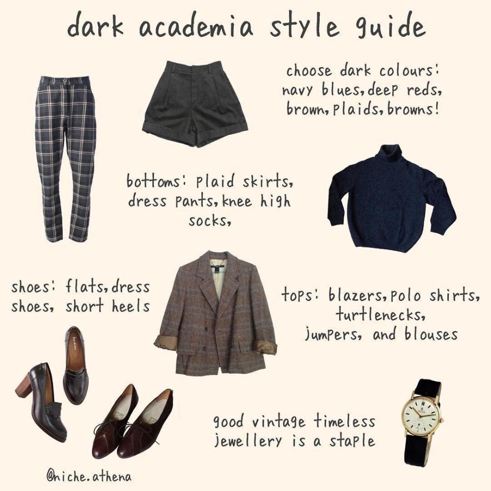 Xu hướng diện đồ kiểu Dark Academia: Phong cách thời trang buồn man mác nhưng lại đậm chất quý tộc sang chảnh  - Mix & Phối 4