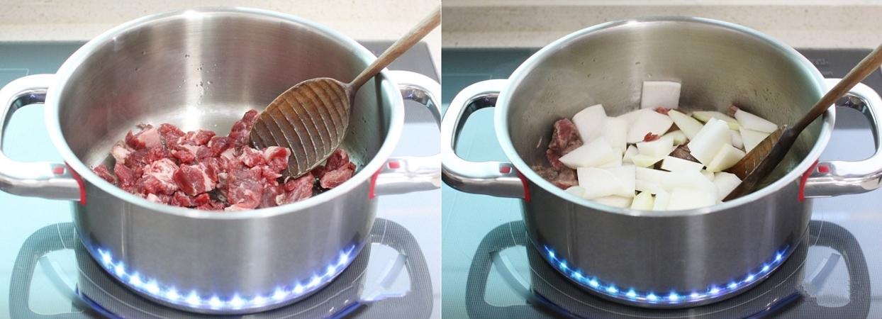 Cuối năm bận rộn, bữa tối nấu tô canh thịt bò thế này thì vừa nhanh lại ngon - Ảnh 4.