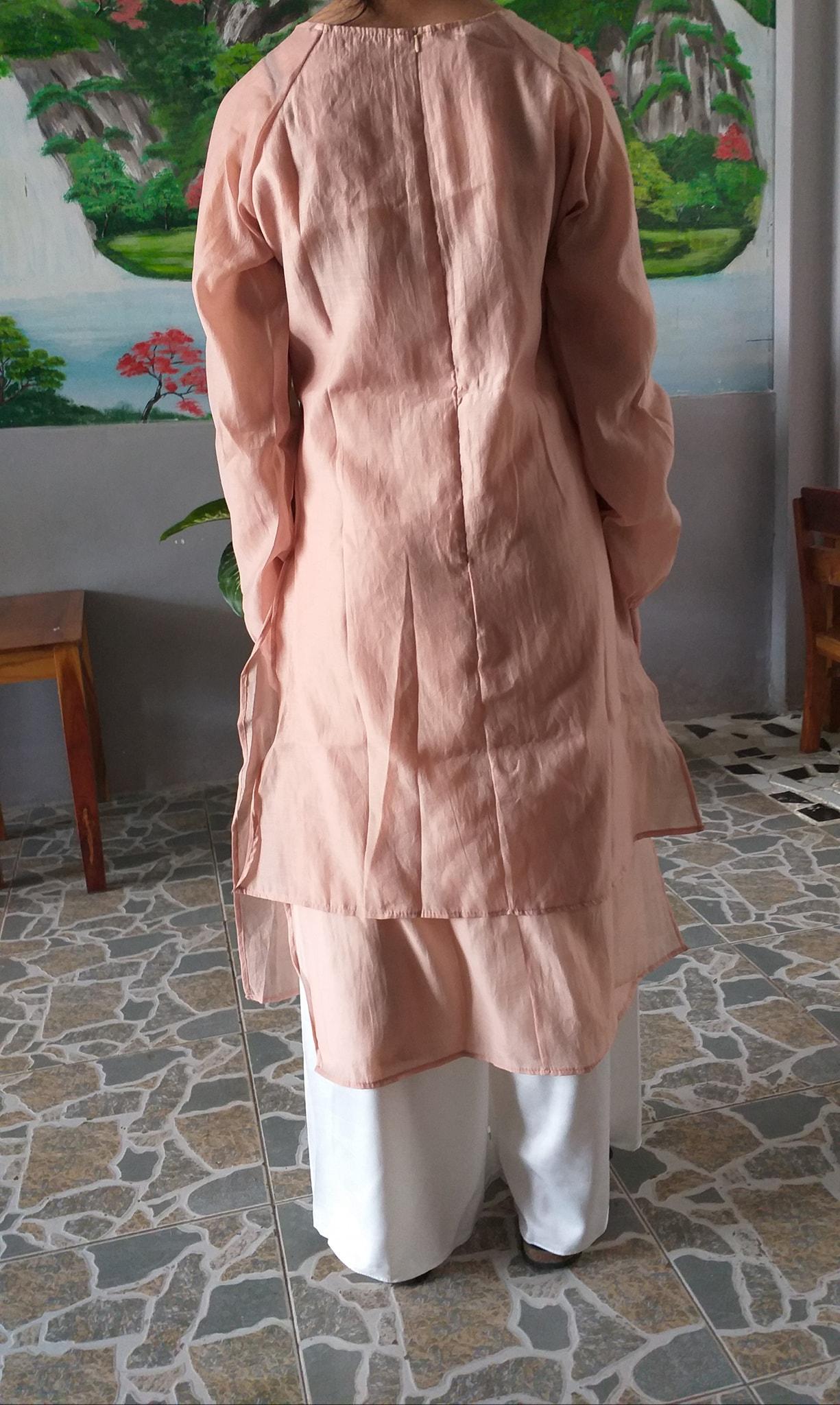 """Tôi đặt mua áo dài diện Tết giá 310k, hình mẫu khác xa với hàng nhận được nhưng bức xúc nhất là câu trả lời """"xanh rờn"""" của shop - Mix & Phối 3"""