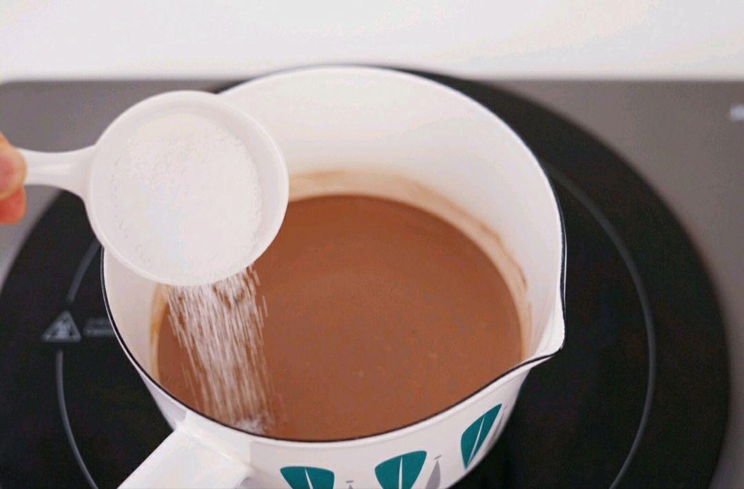 Học cách pha sữa dừa ca cao nóng ấm thơm ngon - Ảnh 3.