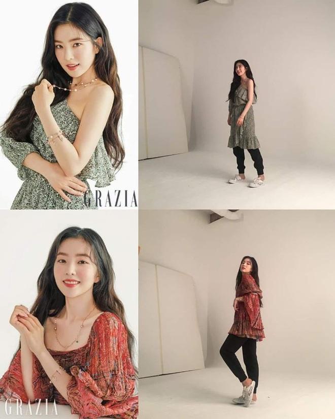 Sự thật ảnh thời trang của sao Hoa Hàn: Lên hình thì chanh sả, nhìn hậu trường mà muốn xỉu ngang - Ảnh 3.