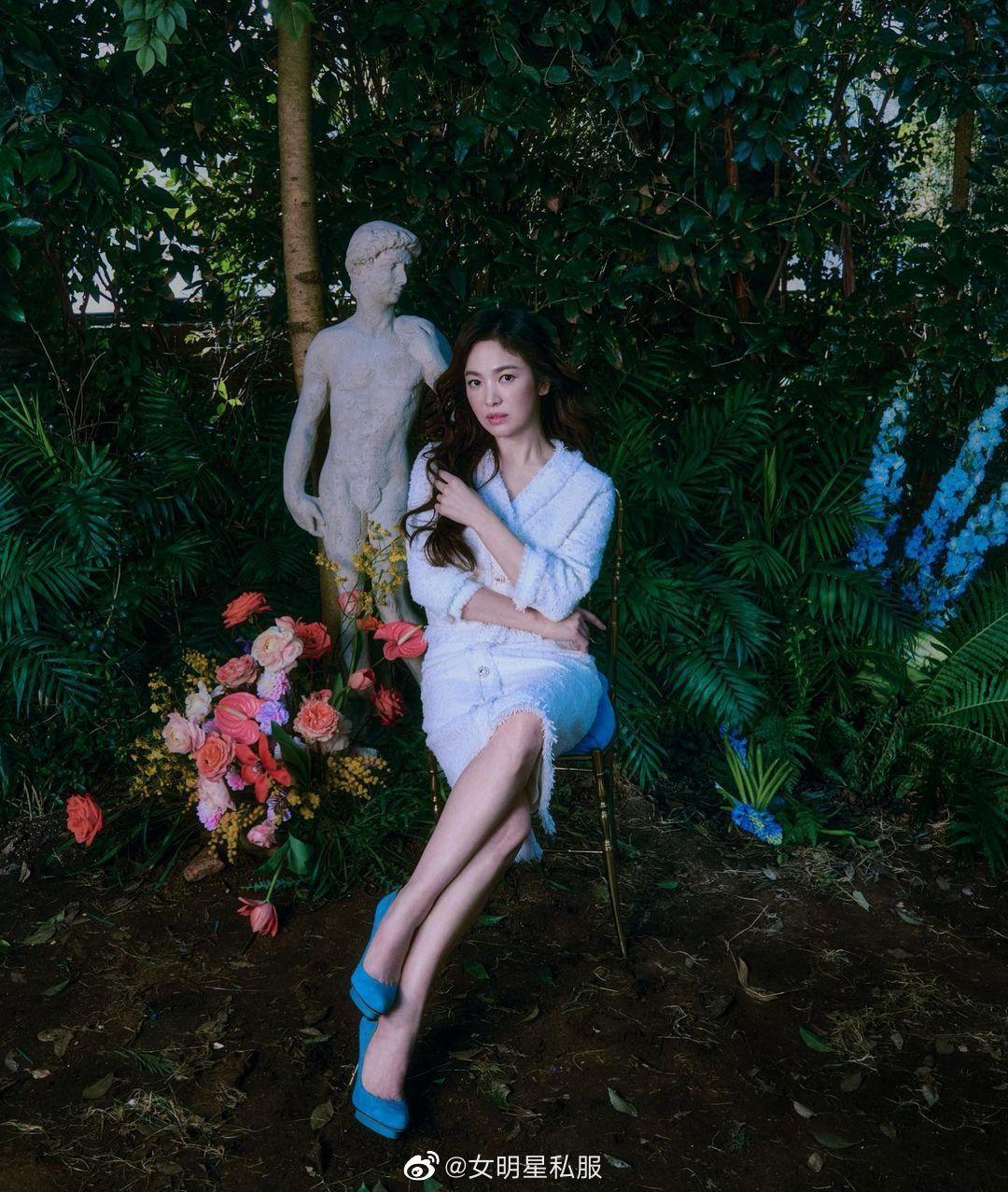 Song Hye Kyo chứng minh thần thái ngày càng lên hương, đồ khó mấy cũng có thể cân đẹp - Ảnh 8.