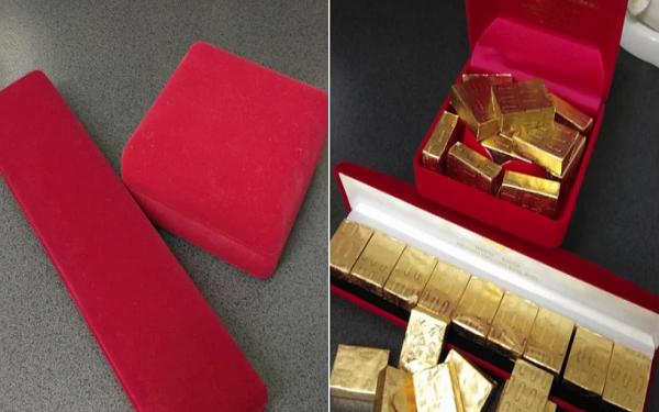 """Được chồng tặng cả chục thỏi vàng đựng trong hộp sang chảnh, người phụ nữ hý hửng mở ra thì phát hiện sự thật """"cay đắng"""""""