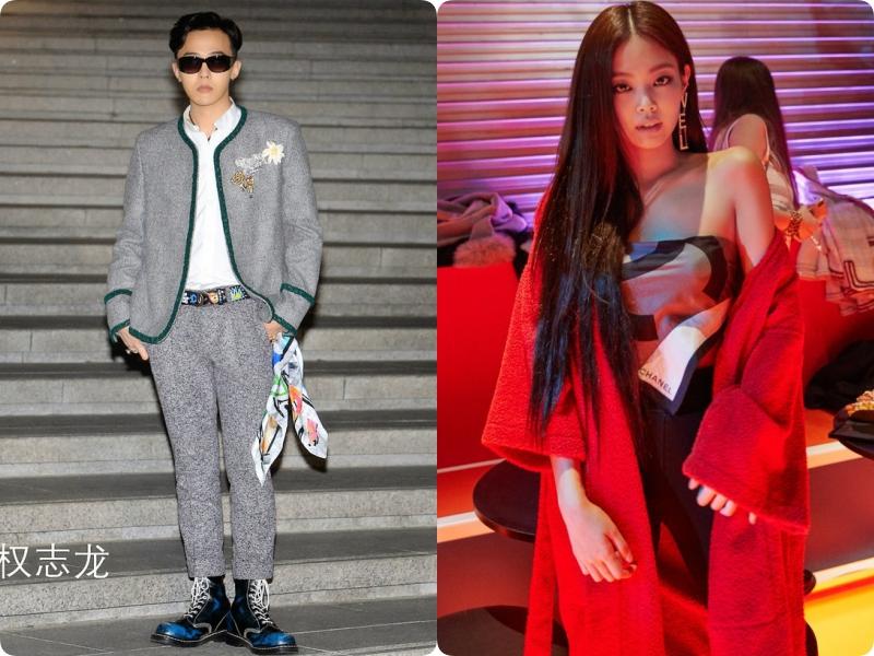 G-Dragon (Big Bang) và Jennie (BLACKPINK)  - Ảnh 2.
