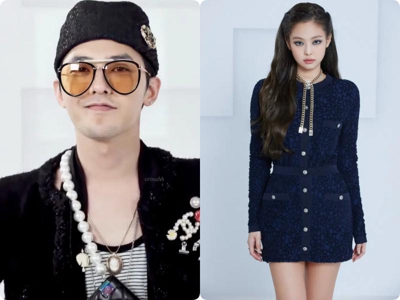 G-Dragon (Big Bang) và Jennie (BLACKPINK)  - Ảnh 9.
