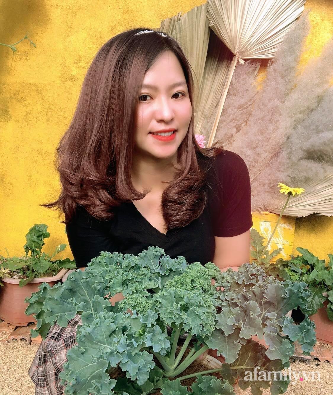 Khu vườn 70m² xanh mát rau quả quanh năm nhờ mẹ đảm mát tay ở Huế - Ảnh 3.