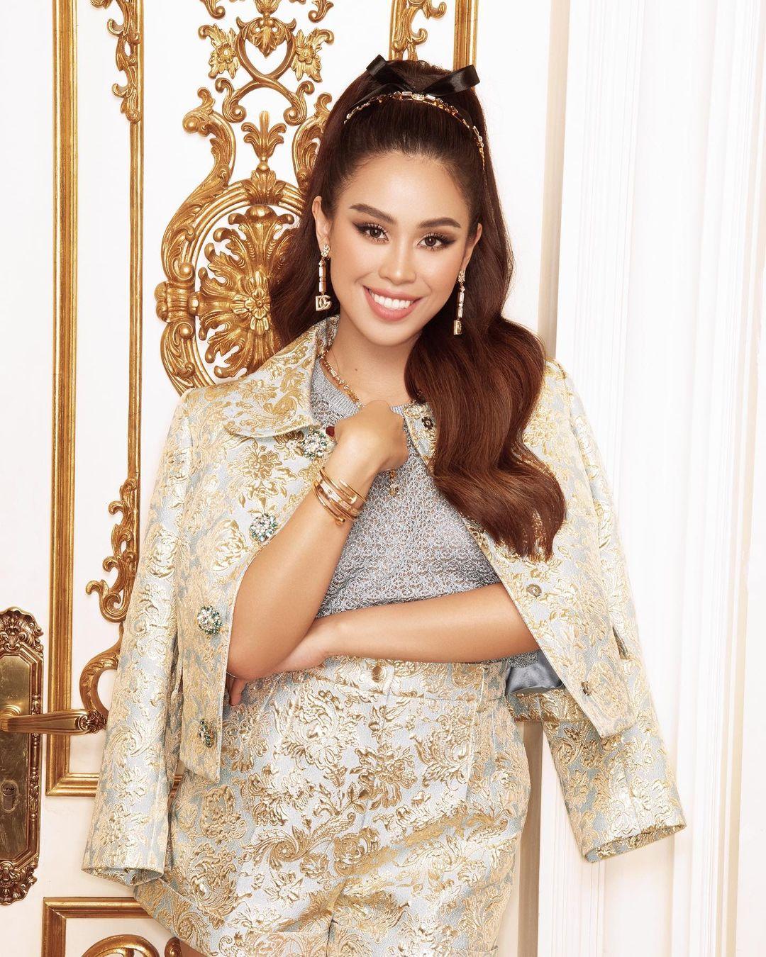 Em chồng Hà Tăng diện cả loạt váy áo ít người dám mặc, chứng minh thần thái đỉnh cao hiếm ai bì kịp - Ảnh 1.