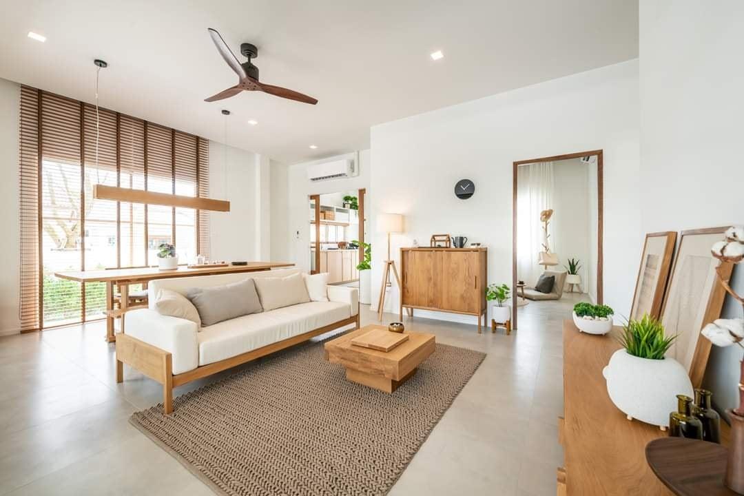 Nhà cấp 4 an yên dành cho những người yêu thích cuộc sống thôn quê và phong cách tối giản - Ảnh 6.
