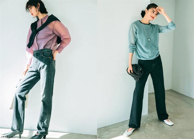 Không phải skinny, đây mới là kiểu quần jeans kéo dài chân vi diệu nhất mà chị em cần biết - Ảnh 5.