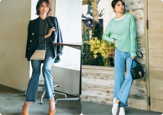 Không phải skinny, đây mới là kiểu quần jeans kéo dài chân vi diệu nhất mà chị em cần biết - Ảnh 1.
