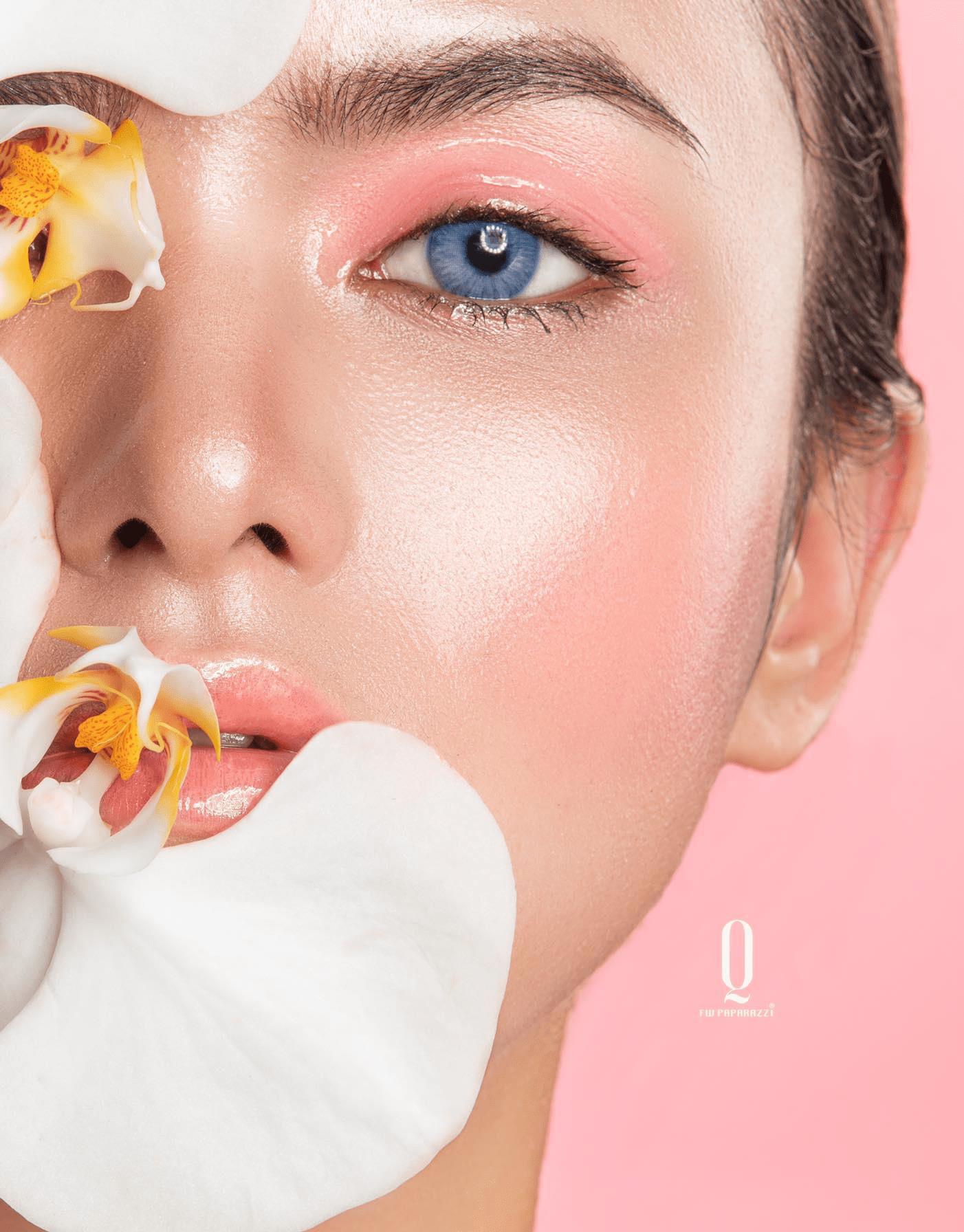 Rẽ ngang theo đuổi đam mê, cô nàng 9x Hoàng Quyên gặt hái thành công với nghệ thuật make-up - Ảnh 1.